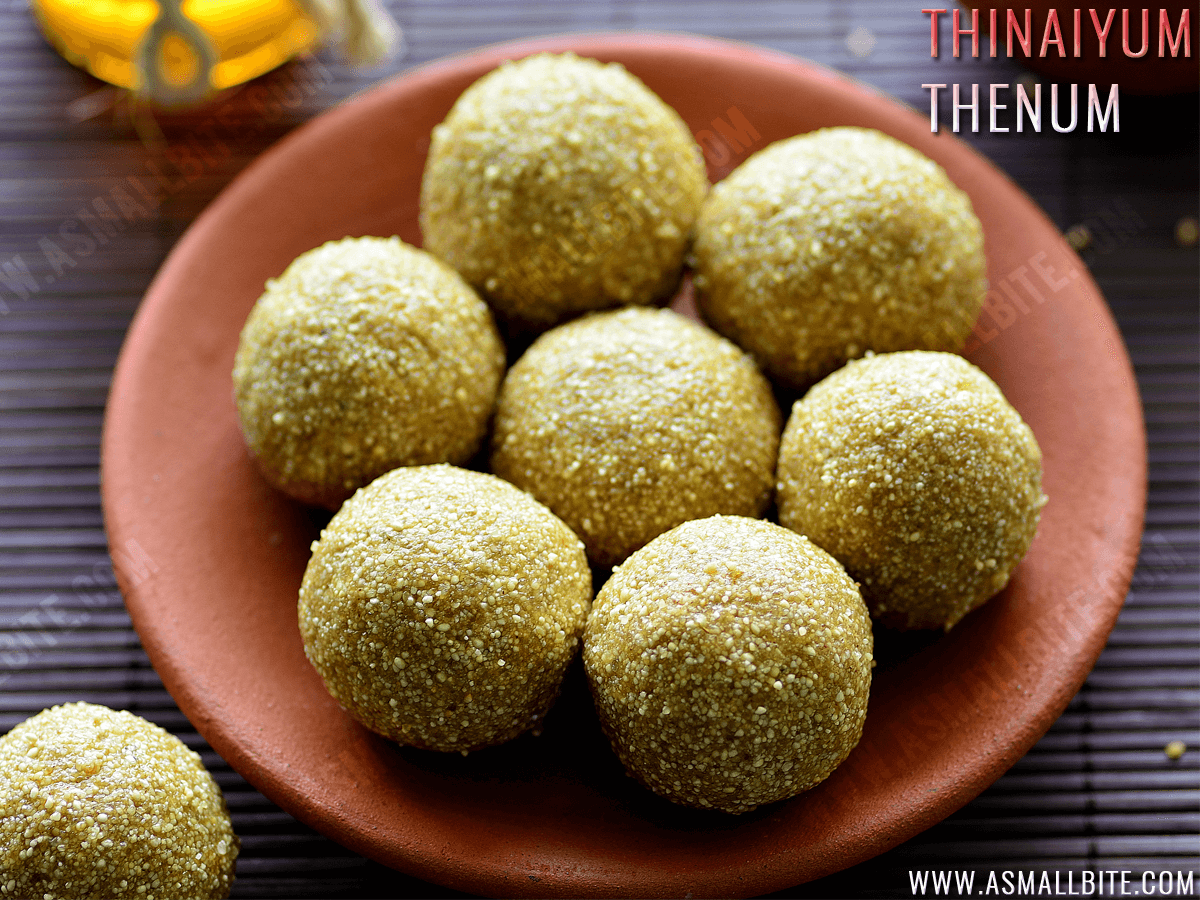 Thinaiyum Thenum Recipe