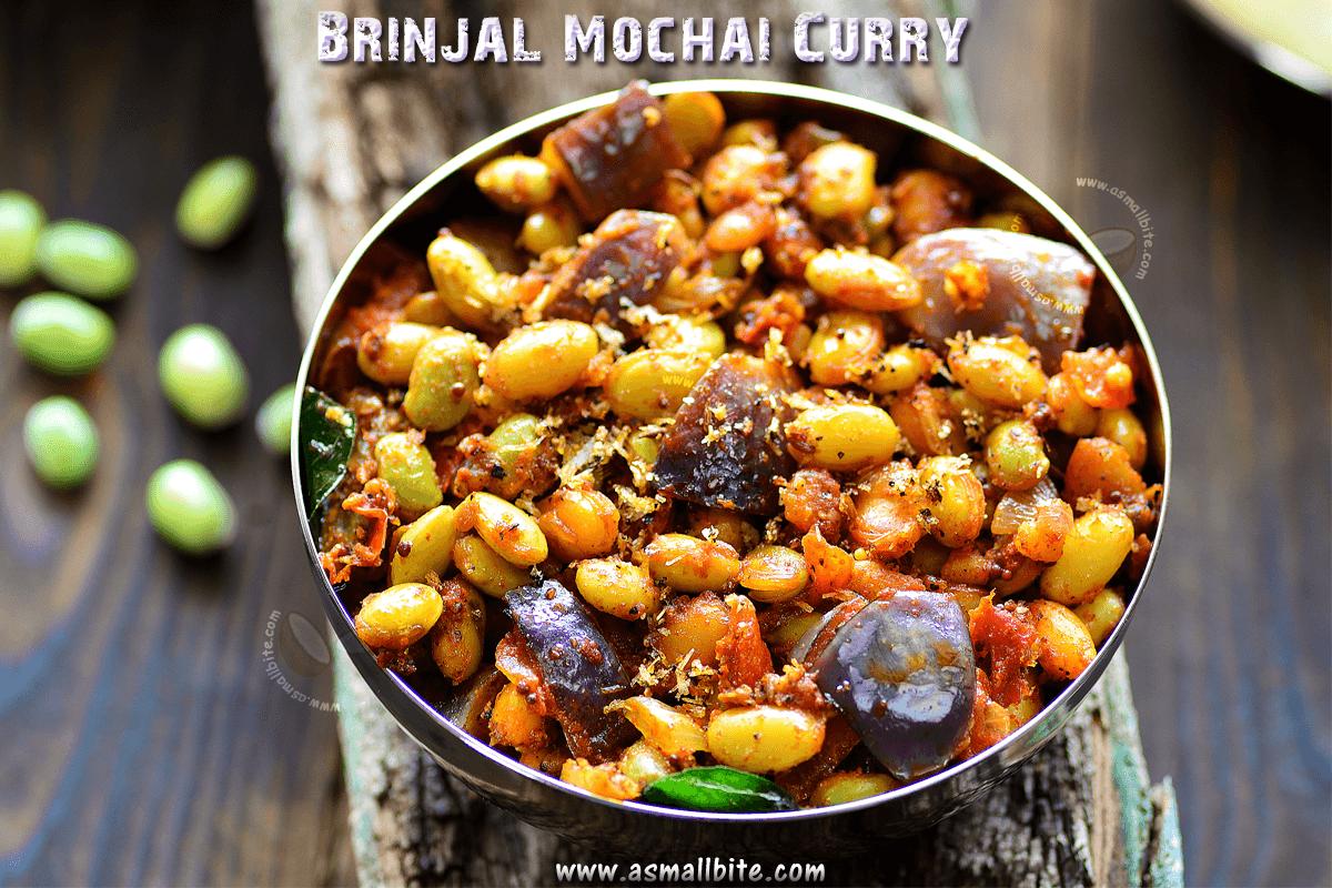 Brinjal Mochai Curry Recipe