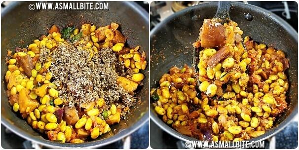 Chettinad Kathirikai Mochai Curry Steps8