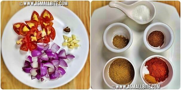 Chole Masala Recipe For Chapathi Steps1