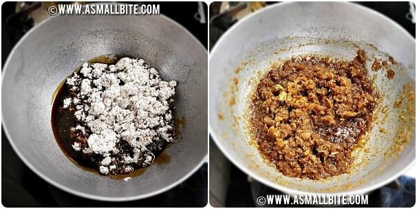 Coconut Obbattu Recipe Steps3