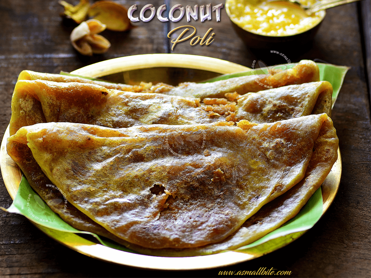 Coconut Poli Recipe