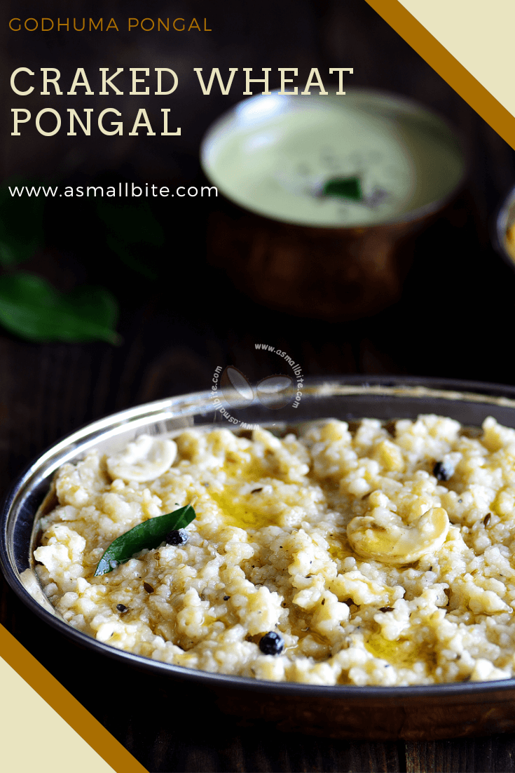 Craked Wheat Pongal