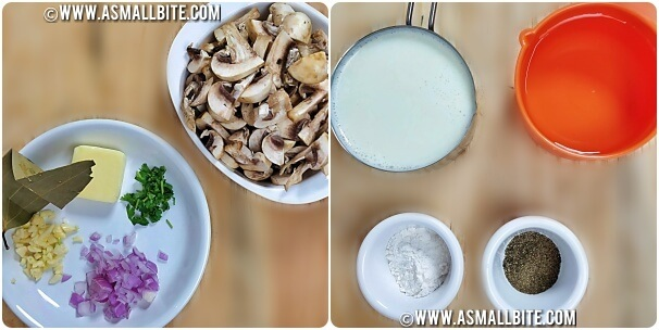 Cream Of Mushroom Soup Recipe Steps1