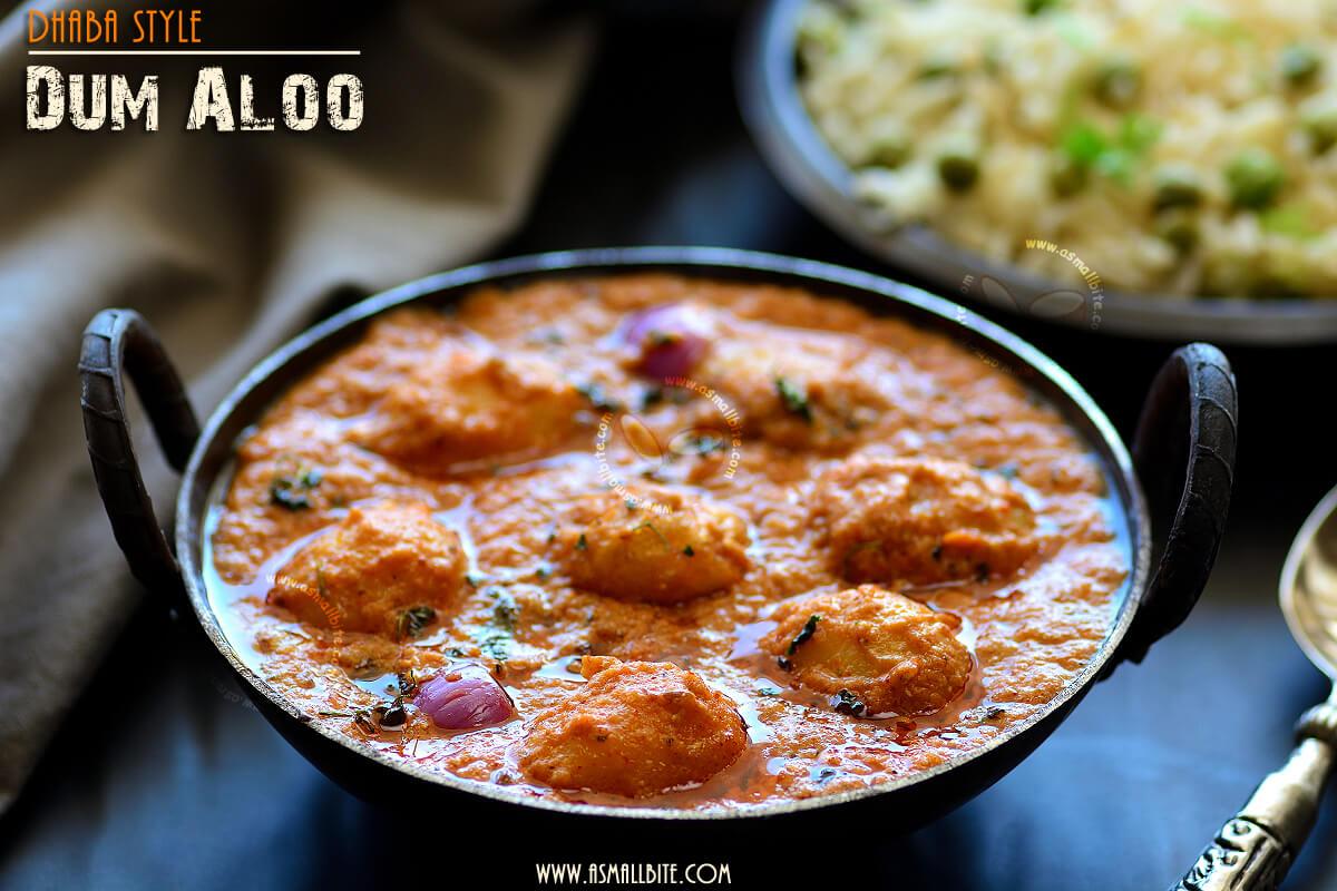 Dhaba Style Dum Aloo Recipe