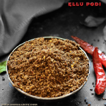 Ellu Podi Recipe | Sesame Seed Powder Recipe