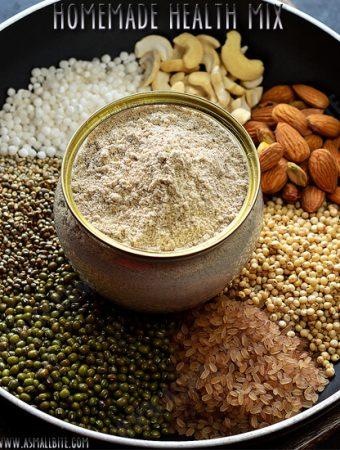Homemade Health Mix Powder