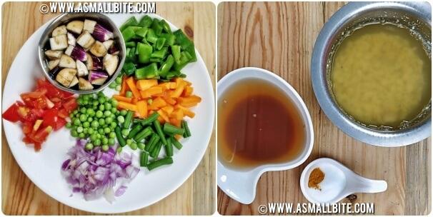 Mixed Veg Kootu Recipe Steps1
