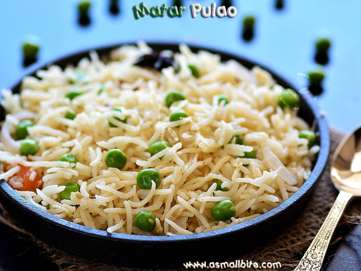 Mutter Pulao Recipe