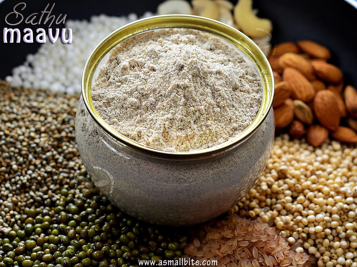 Sathu Maavu Recipe