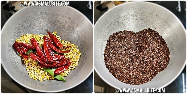 Sesame Seeds Powder Recipe Steps2