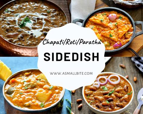 Chapati Roti Sidedish Recipes