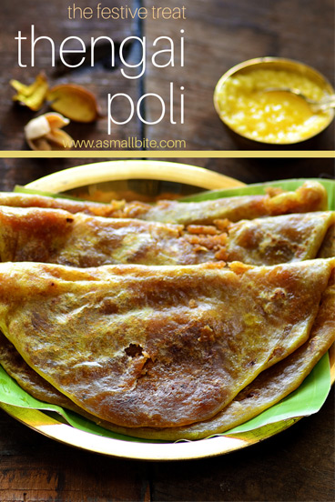 Thengai Poli Recipe
