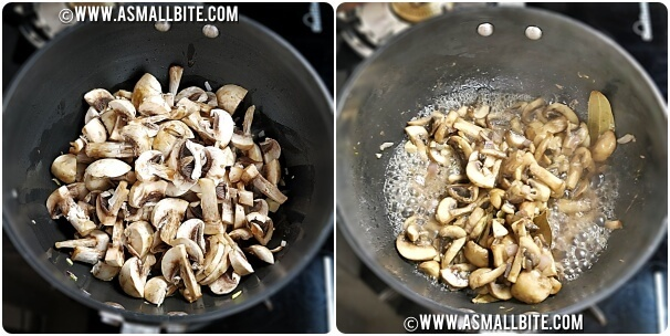 Vegetarian Mushroom Soup Recipe Steps4