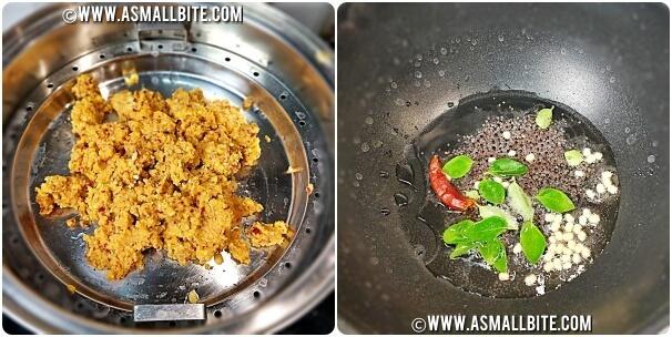 Beans Paruppu Usili Recipe Steps5