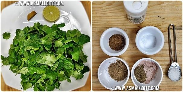 Jal Jeera Main Ingredients Steps1