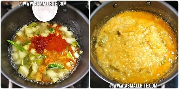 Aam ki Daal Recipe Steps3