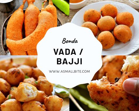 Bajji Bonda Vada Recipes