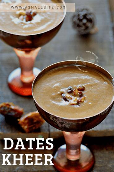 Dates Kheer Recipe Ugadi Festival Recipes