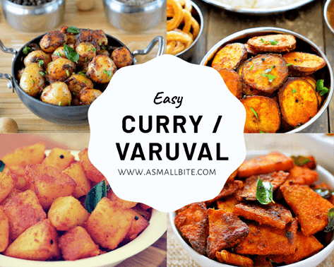 Easy Curry Varuval Recipes