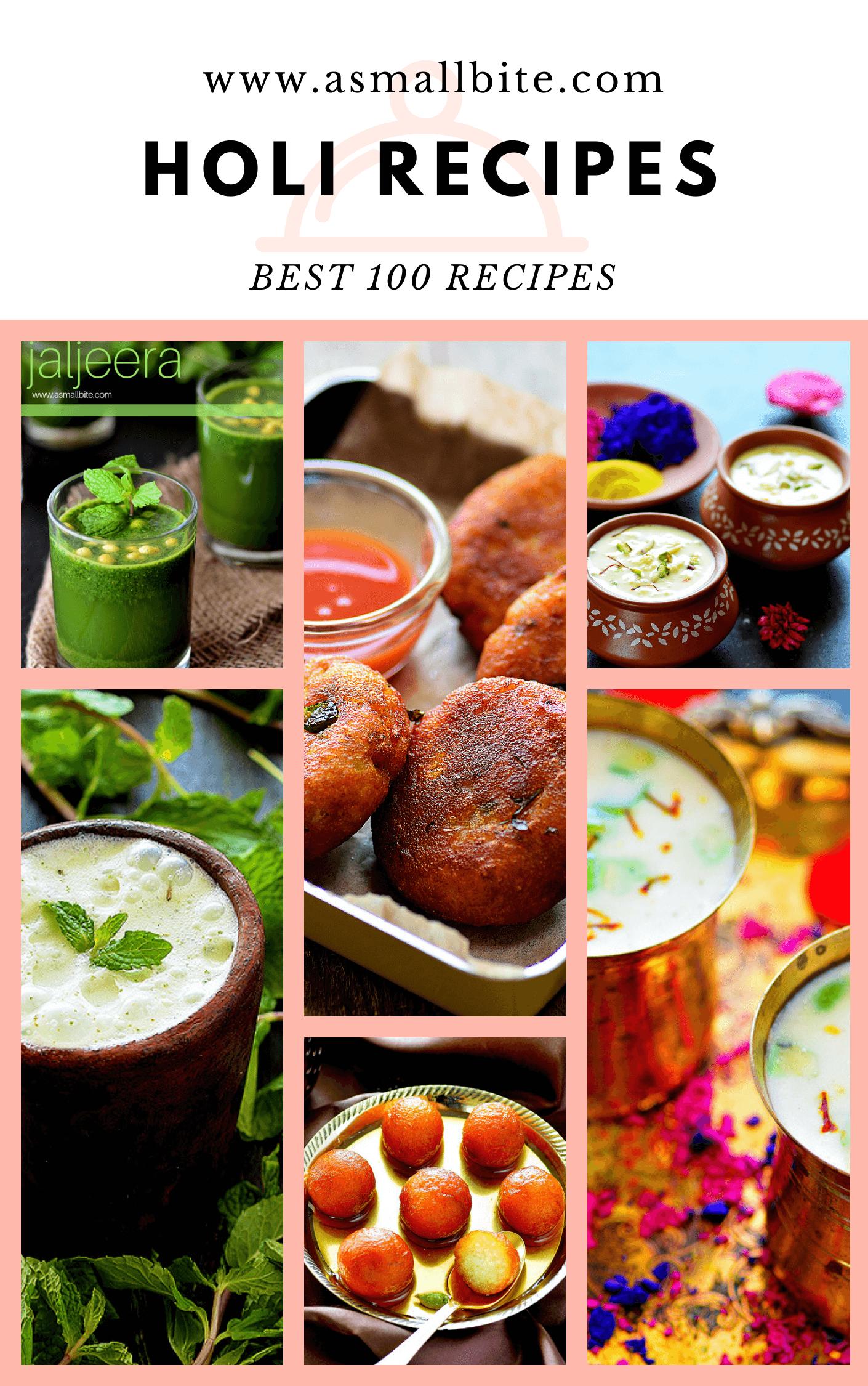 Holi Sweets Recipes Holi Snacks