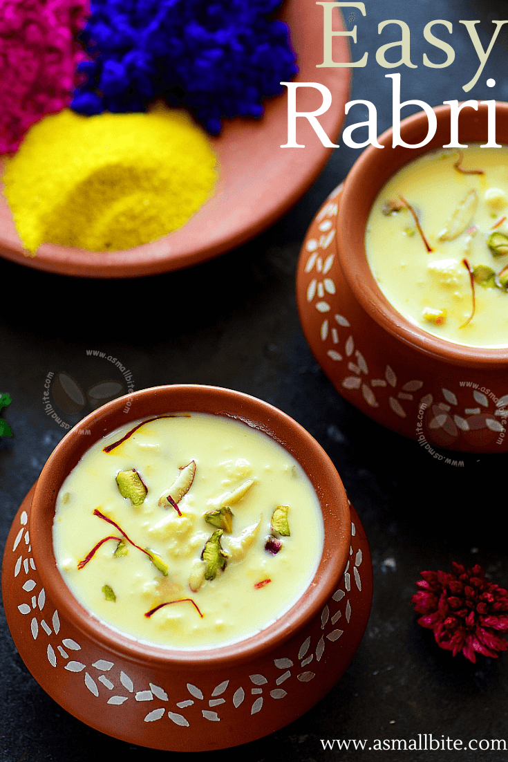 Homemade Rabri Recipe