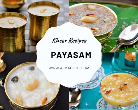 Payasam Kheer Recipes