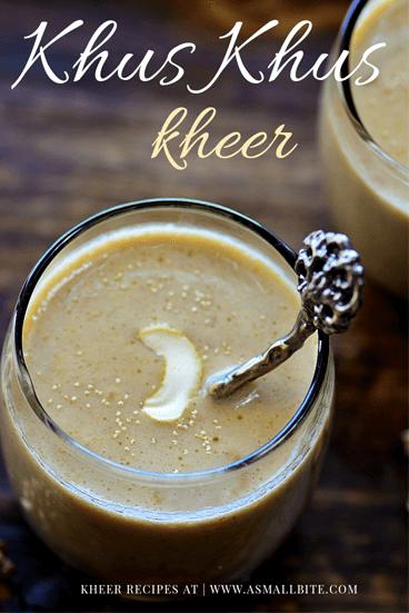 Khus Khus Kheer Recipe