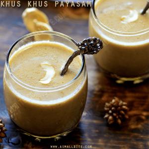 Khus Khus Payasam Recipe