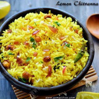 Lemon Chitranna Recipe