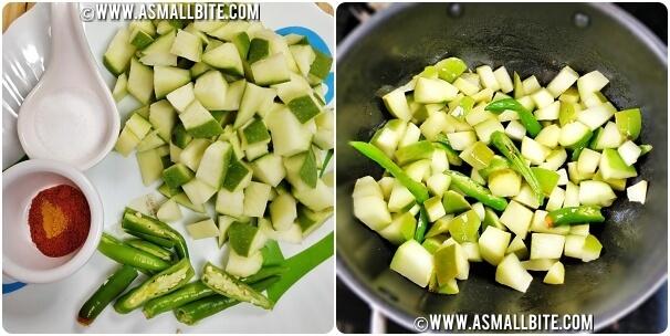 Mango Dal Recipe Steps2