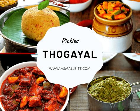 Pickles Thogayal Recipes