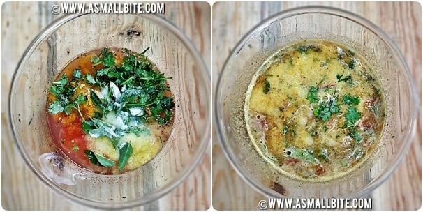 Pineapple Rasam Recipe in Tamil Steps6