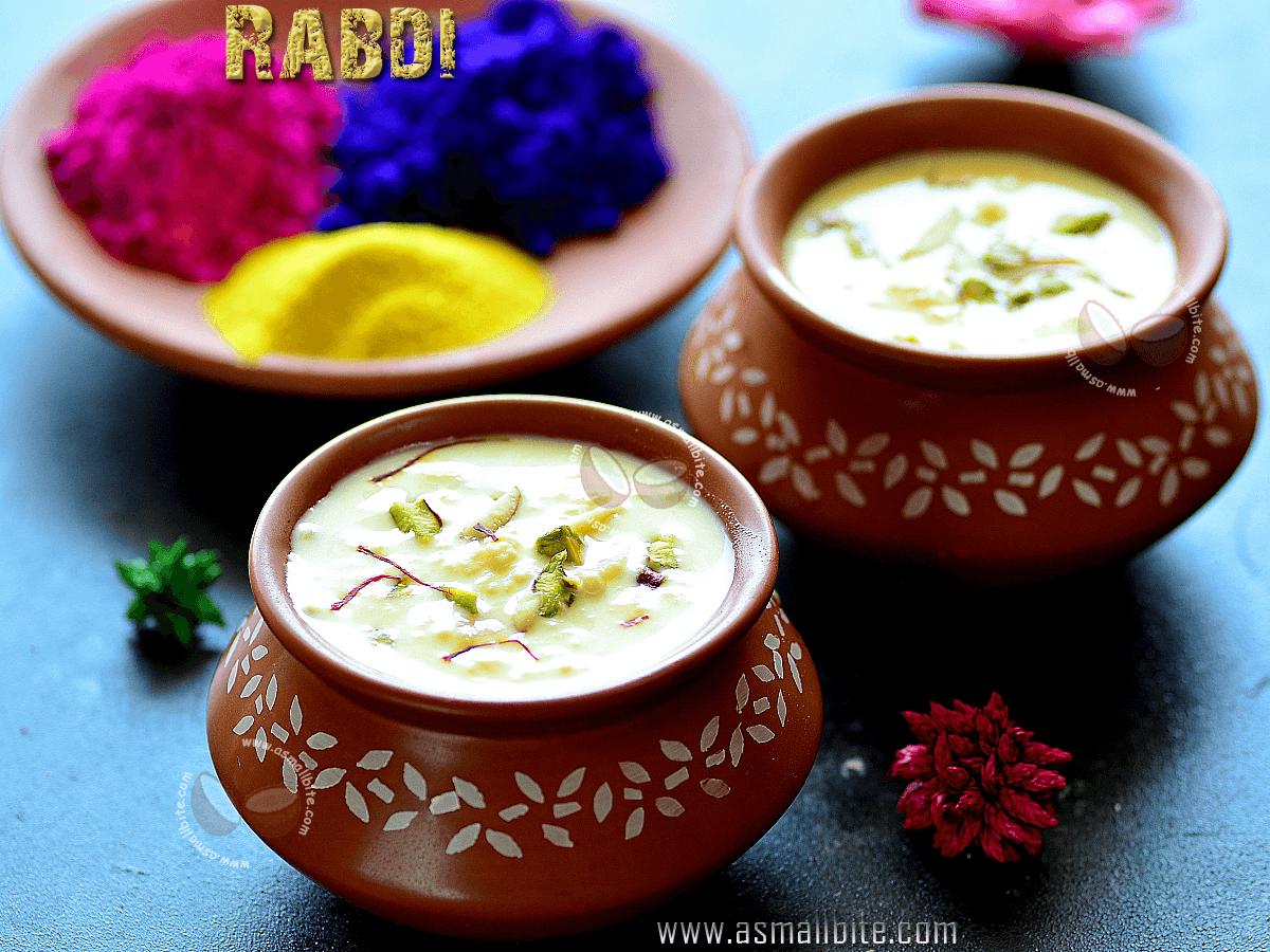 Rabdi Recipe