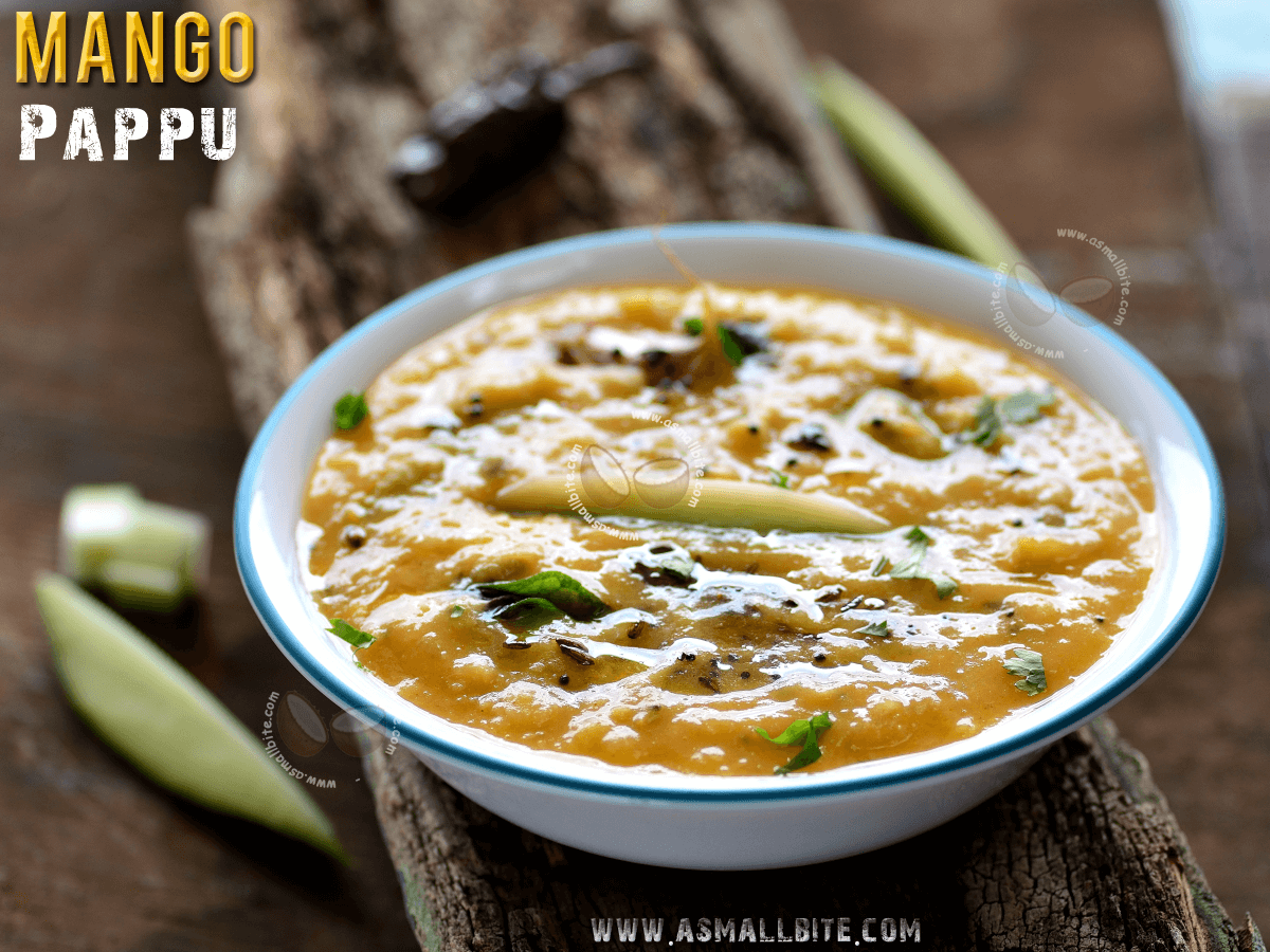 Raw Mango Pappu Recipe