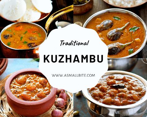 Traditional Kuzhambu Recipes