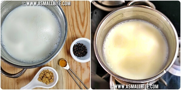 Turmeric Latte Recipe Steps1