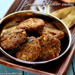 Banana Flower Vadai Recipe