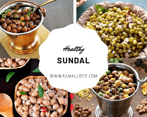 Healthy Sundal Recipes