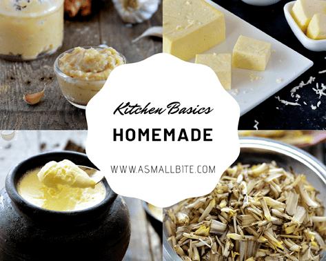 Homemade Kitchen Basics Recipes