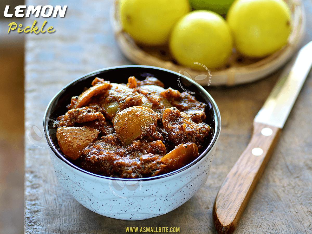 Lemon Pickle Recipe