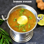 Lemon Rasam Recipe | Elumichai Rasam Recipe