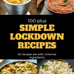 Lockdown Recipes | 100 Plus Lockdown Recipes Indian