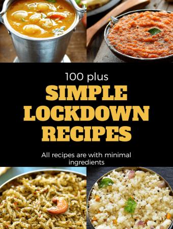 Lockdown Recipes Indian