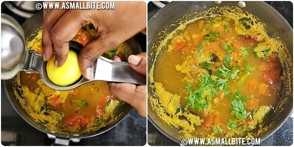 Opos Lemon Rasam Steps6
