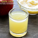 Apple Juice for babies constipation