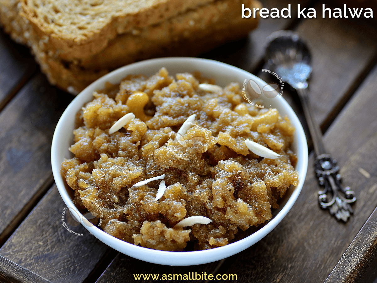 Bread Ka Halwa Recipe