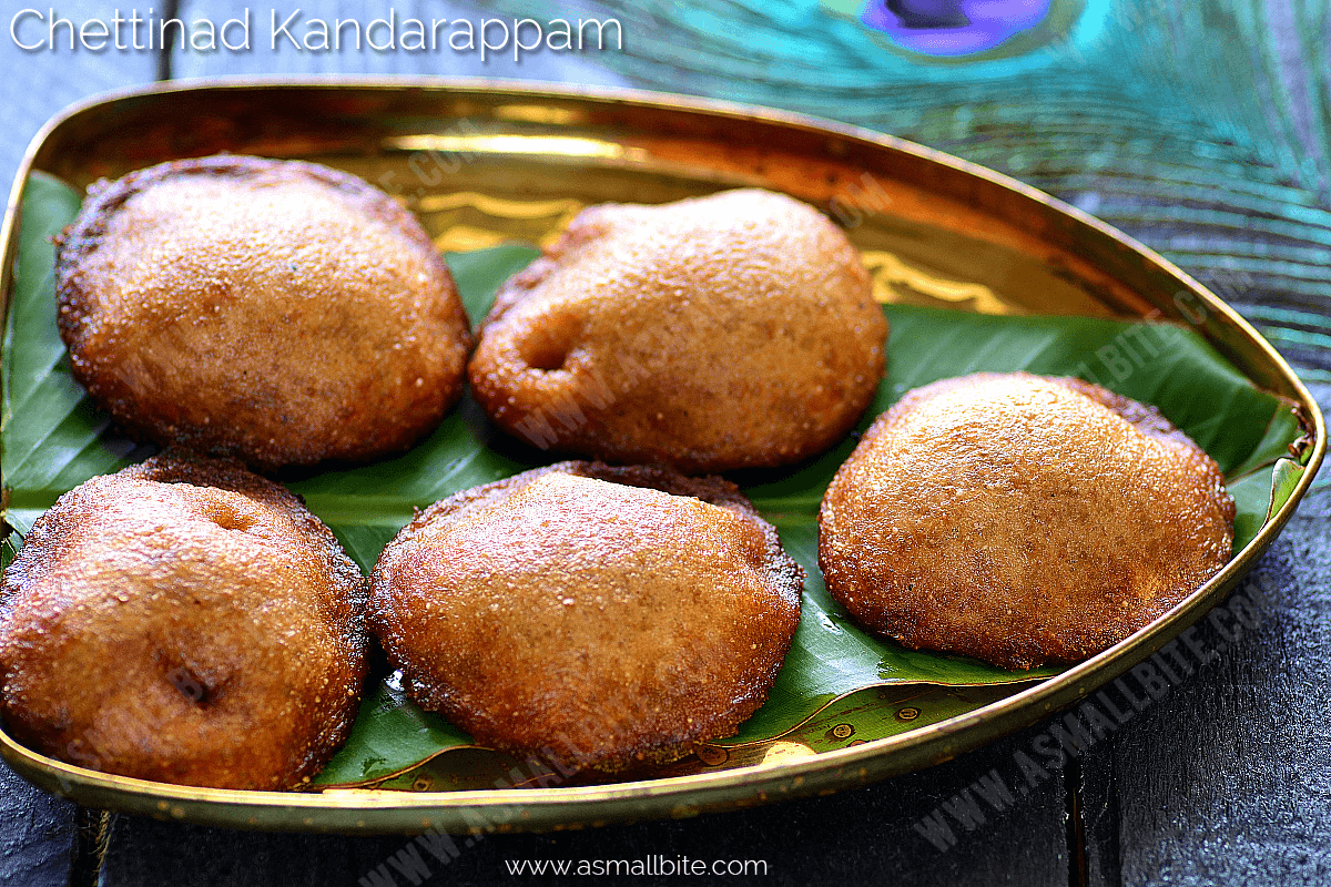 Chettinad Kandhar appam Recipe