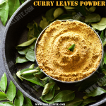 Curry Leaves Powder Recipe | Karuveppilai Podi | Karivepaku Podi
