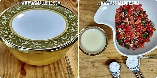 How to make Mango Semolina Cake